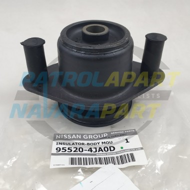 Genuine Nissan Navara D23 NP300 2WD & 4WD DC Row 2 Body Mount