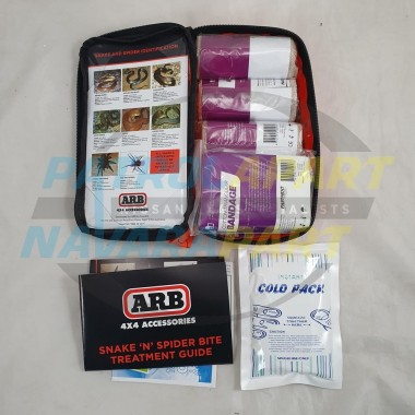 ARB First Aid Kit Hi Vis for Snake Bite with Treatment Guide