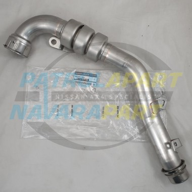 Genuine Nissan Navara D23 NP300 Twin Turbo Intake Hot Pipe off Turbo