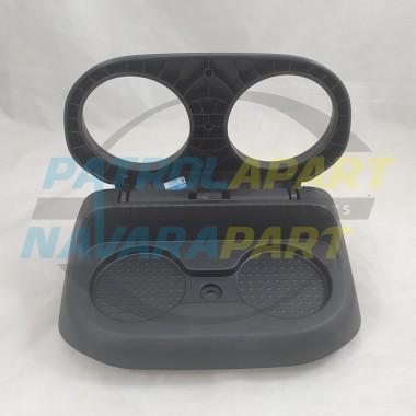 Genuine Nissan Navara D23 NP300 ST-X Factory Cup Holder can suit ST