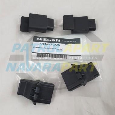 Genuine Nissan Navara D23 NP300 Soft Tonneau Cover End Caps Set 4