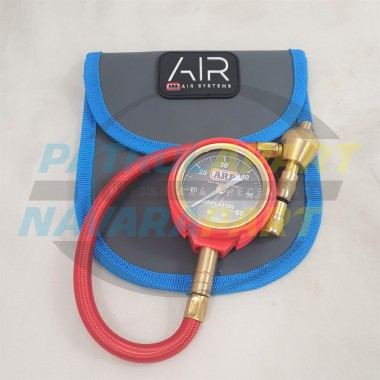 Premium Tyre Deflator by ARB With Analogue Gauge & Chuck 1 PSI Increments