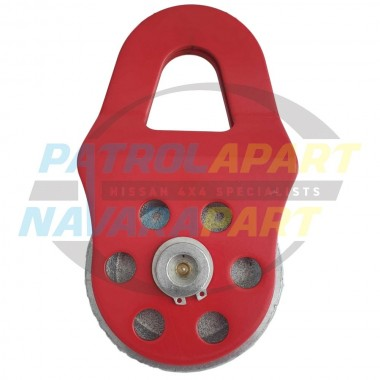 Carbon Winch 8T 8,000kg Snatch Block V2 for Rope & Wire