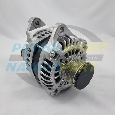 Genuine Mitsubishi Electric 150A Alternator for Nissan Navara D40 R51 with V9X Engine