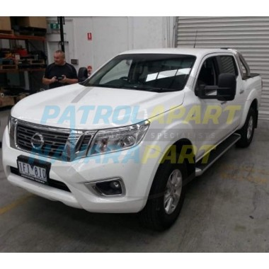 Clearview Electric Extended Black Mirrors for Nissan Navara D23 NP300