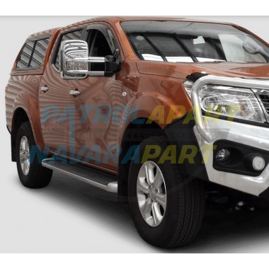 Clearview Electric Extended Chrome Mirrors for Nissan Navara D23 NP300