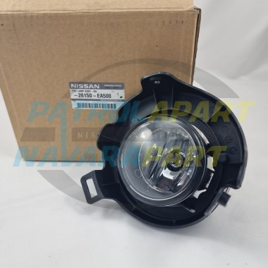 Genuine Nissan Pathfinder R51 Right Hand Drivers Side Fog Light Assembly