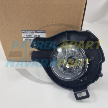 Genuine Nissan Pathfinder R51 Left Hand Passenger Side Fog Light Assembly