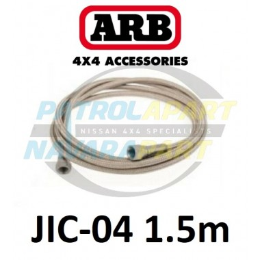 ARB Stainless Braided Air Hose 1.5m 1/4