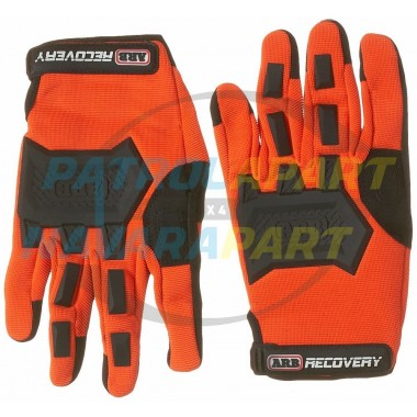 ARB Hi-Vis Recovery Gloves for Winching 4wding offroad safety 1 PAIR