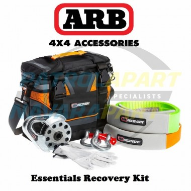 ARB Essentials Recovery Kit with Bag, Snatch Strap, 3m Tree Truck, Snatch Block & 2 x 4.75t Shackles
