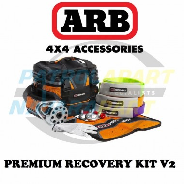 ARB Premium Recovery Kit with Bag, Snatch, Tree Truck, Winch Ext, Block, Damper, Shackles & Gloves