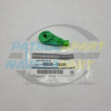 Genuine Nissan Navara D40 VSK Right Hand Front Door Lock Green Lever