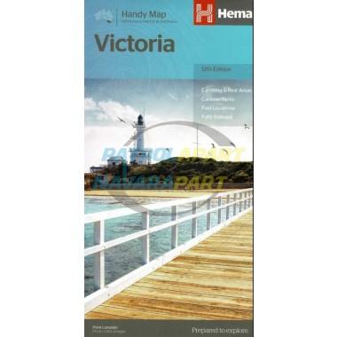 Victoria Handy Hema Map