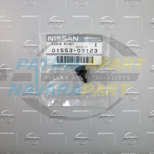 Genuine Nissan Navara D22 Flare Stud - Black Male
