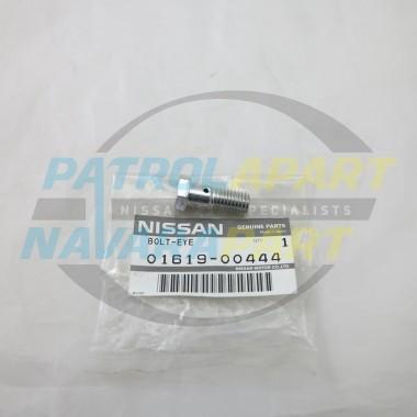 Nissan Navara D22 Vac Pump Oil Feed Banjo Bolt TD27 QD32