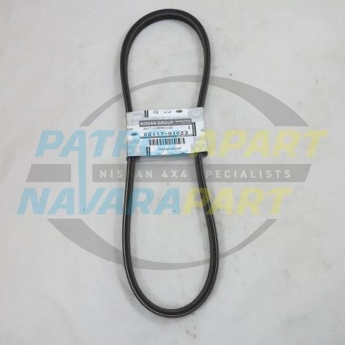 Genuine Nissan Navara D22 YD25 A/C Fan Belt