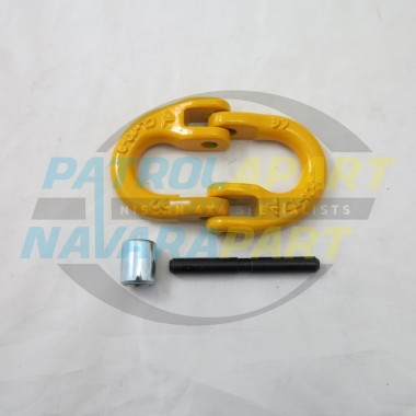 Large Winch Hook Connector Hammerlock suit Warn, VRS, Runva
