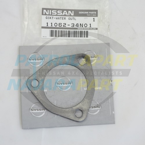 Genuine Nissan Navara D22 QD32 TD27 Thermostat Outlet Gasket