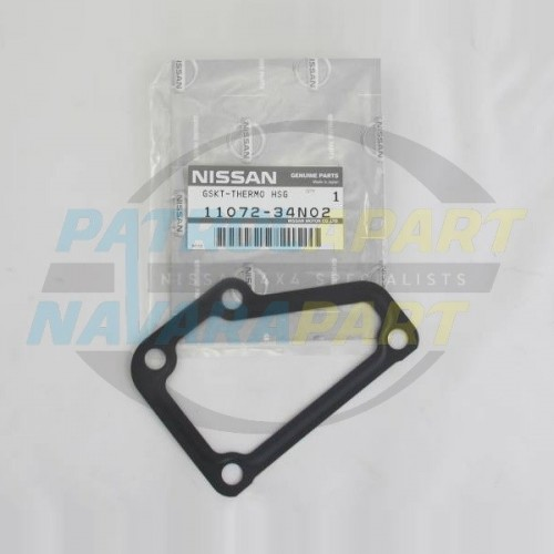 Nissan Navara D22 QD32 TD27 Thermostat Housing Gasket