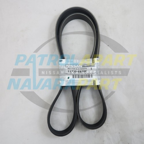 Genuine Nissan Navara D40 Spanish YD25 Serpentine Belt Pre 2010