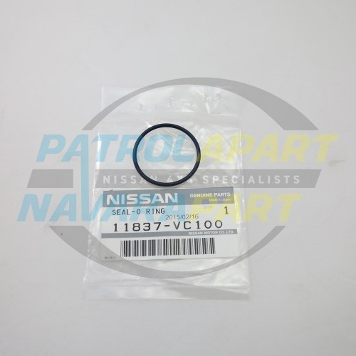 Genuine Nissan ZD30 O-Ring for Oil pipe at back of Head