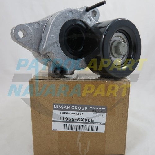 Genuine Nissan Navara D40 R51 Spain Auto Belt Tensioner 2010 on