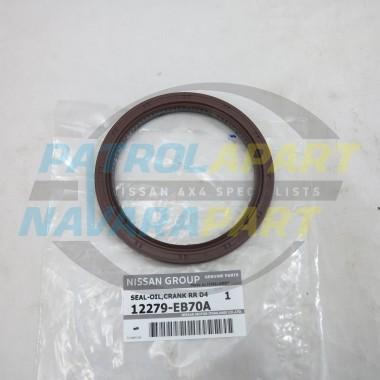 Genuine Nissan Navara D22 D40 Thai YD25 Rear Main Seal RMS
