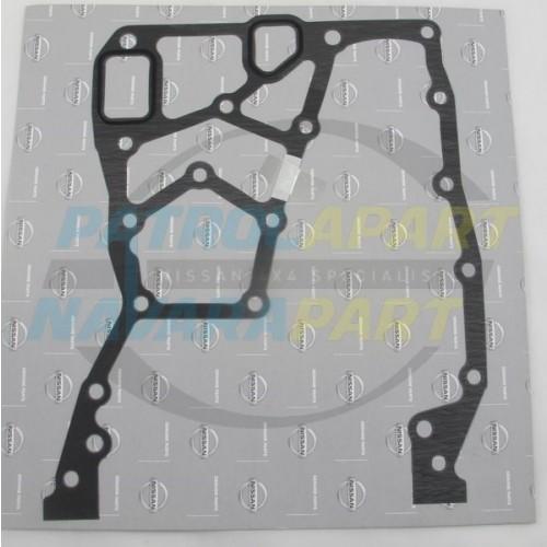 Genuine Nissan Navara D22 TD27 Timing Cover Backing Plate Gasket