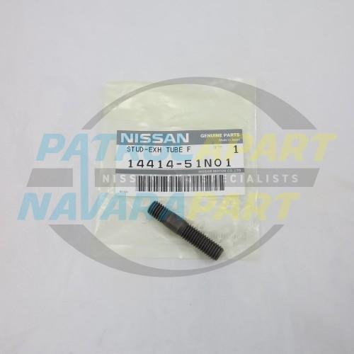 Genuine Nissan D22 Navara ZD30 Turbo Dump Pipe Stud