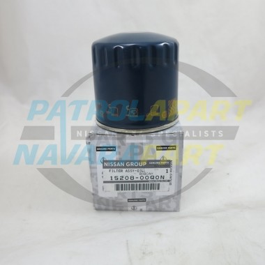 Genuine Nissan Navara D40 V9X STX-550 Oil Filter