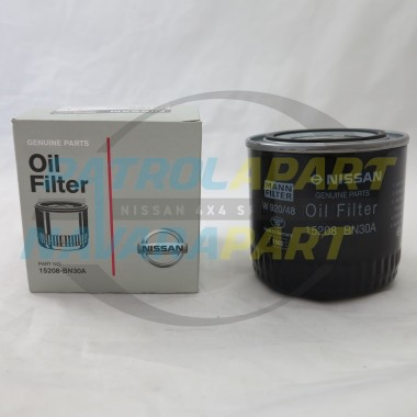 Genuine Nissan Oil Filter D22 D40 Navara & Pathfinder with YD25
