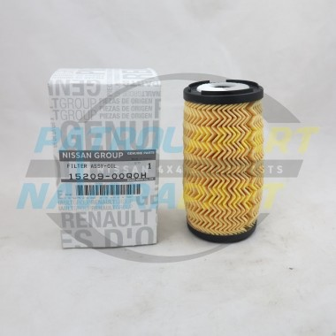 Genuine Nissan Navara D23 NP300 YS23 Diesel Oil Filter