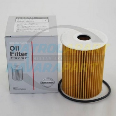 Genuine Nissan Navara D22 Oil Filter Suit ZD30 DDI 2001 - 2008