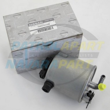 Genuine Nissan Navara D40 Spanish YD25 Fuel Filter 06/2006 on
