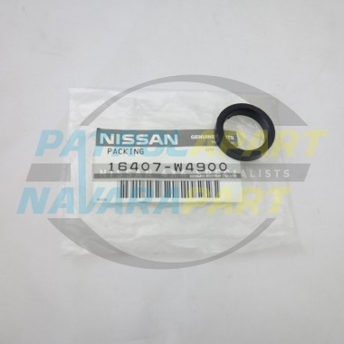 Genuine Nissan Navara D22 QD32 TD27 Lift Pump to Fuel Filter Seal