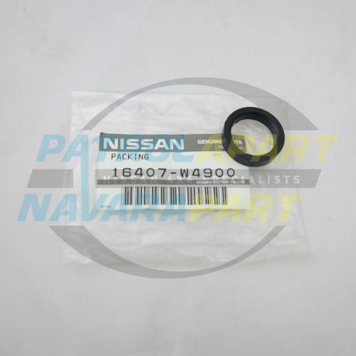 Genuine Nissan Navara D22 QD32 TD27 Lift Pump to Fuel Filter Seal