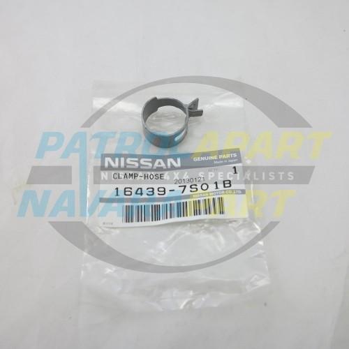 Genuine Nissan Navara D40 R51 YD25 V9X VQ40 Hose Clamp