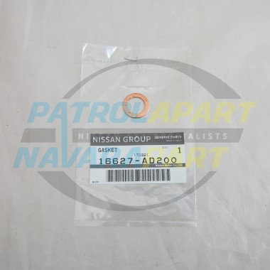 Genuine Nissan Navara D22 D40 YD25 Bleed off Line Gasket