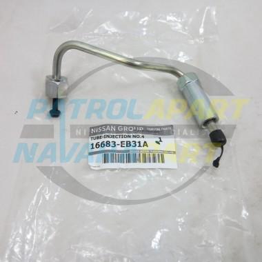 Genuine Nissan Navara D22 D40 Thai Spanish YD25 Injector Pipe #4