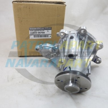 Genuine Nissan Navara D22 & D40 MNT Thai YD25 Water Pump