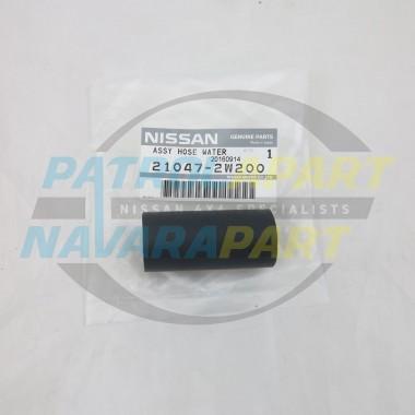 Genuine Nissan Navara D22 ZD30 Heater Hose to Water Pump