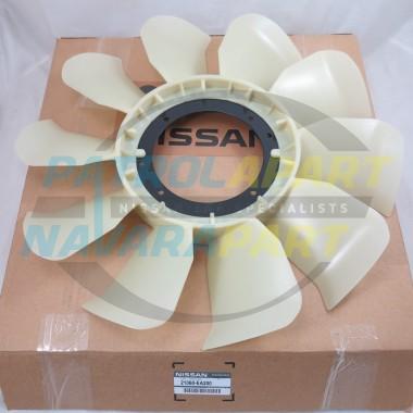 Genuine Nissan Navara D40 R51 VSK VQ40 Petrol Fan Blade 2005-15