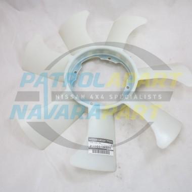 Genuine Nissan Navara D22 MNT JN1 YD25 Fan Blade 2008-2015