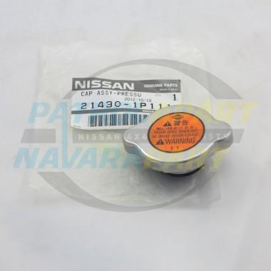 Genuine Nissan Navara D40 & R51 Pathfinder Radiator Cap 110kpa