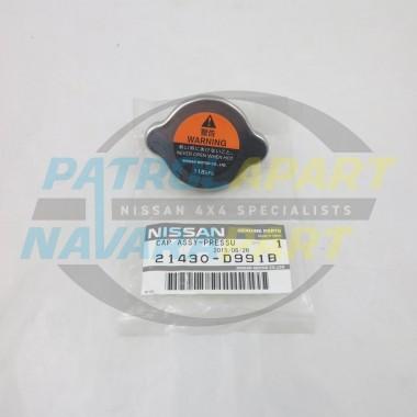 Genuine Nissan Navara D40 V9X STX-550 118Kpa 1.2 Radiator Cap