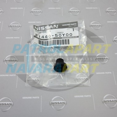 Genuine Nissan Navara D22 & D40 Radiator Drain Tap Screw Cap
