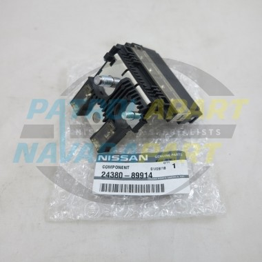 Genuine Nissan Navara D40 R51 Spanish VQ40 VSK Twin Fusible Link