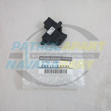 Genuine Nissan Navara D40 Thai YD25 Single Electric Window Switch