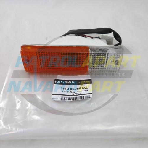 Genuine Nissan Navara D22 D40 Steel BullBar Indicator Light RH